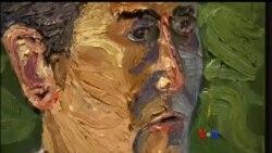 သမၼတေဟာင္း George W Bush ရဲ႕ ပန္းခ်ီျပပြဲ