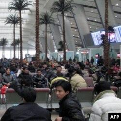 漂亮的北京南站