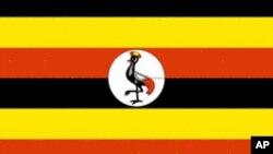 Drapeau de l'Ouganda.