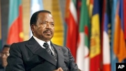 Shugaban Kamaru, Paul Biya