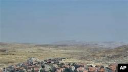 图为东耶路撒冷犹太定居点8月11日资料照。图片来源:AP