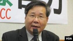 台湾在野党台联党立委许忠信(美国之音张永泰拍摄)