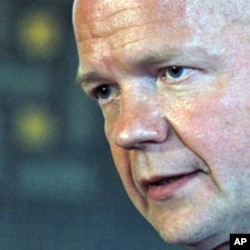 British Foreign Minister William Hague (File)