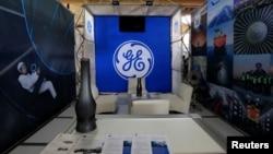 지난 10월 쿠바 수도 아바나에서 열린 '아바나 국제박람회'에 나온 미국제조업체 제너럴일레트릭(GE) 부스.