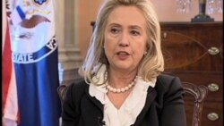 Wawancara VOA dengan Hillary Clinton Terkait Masalah Iran (bag.1) - Liputan VOA 26 Oktober 2011