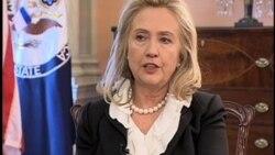 Menlu Amerika Hillary Clinton mengecam rencana Korea Utara untuk meluncurkan misil (foto: dok).
