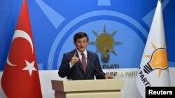 Turski premijer Ahmet Davutoglu