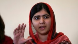 Nigeria's President Meets With Malala Yousafzai