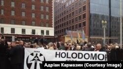 У Вашингтоні заклали основу меморіалу жертвам Голодомору. ФОТО