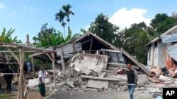 Posle zemljotresa na ostrvu Lombok