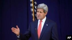 Menteri Luar Negeri Amerika Serikat, John Kerry (Foto: dok).