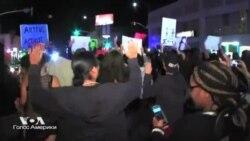 Беспорядки в Фергюсоне стихли, но протесты по всей стране продолжаются