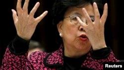 Margaret Chan shugabar hukumar kiwon lafiya ta duniya