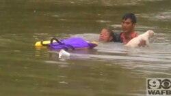 Dramáticos rescates en Baton Rouge, Luisiana
