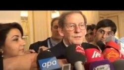 Amerika səfiri NDİ və Qarabağ münaqişəsindən danışıb