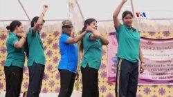 Ինքնապաշտպանության դասընթացներ կանանց համար Հնդկաստանում