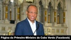 Ulisses Correia e Silva, primeiro-ministro de Cabo Verde na Igreja de St. Patrick's, em Brockton, Estados Unidos