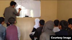 """Shafqat"" ta'lim markazida matematika darsi"