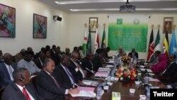 Inama ya Amisom muri Djibouti