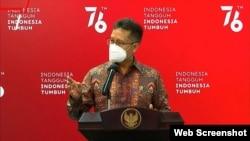 Menkes Budi Gunadi Sadikin dalam Telekonferensi pers usai Ratas di Jakarta, Senin (26/7) mengatakan masih banyak masyarakat yang menganggap COVID-19 Sebagai Aib (Foto:VOA).