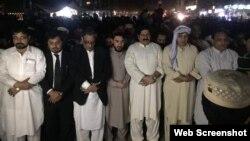 فرشتہ مہمند کی نماز جنازہ میں پی ٹی ایم کے قائدین نے شرکت کی۔