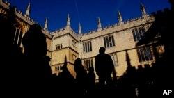 英國牛津的牛津大學圖書館