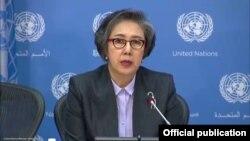 Pelapor Khusus PBB Yanghee Lee (Foto: dok). Yanghee Lee tiba di Myanmar, Minggu lalu, untuk kunjungan selama 12 hari.