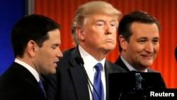 El debate en Detroit se caracterizó por un fuerte enfrenamiento entre Trump y los otros tres candidatos.