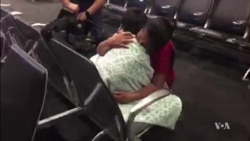 Guatemalan Migrant Mother, Son Reunited
