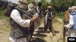 Pemberontak Taliban di Afghanistan.
