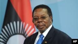 Malawian President Bingu wa Mutharika (File 2010)