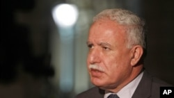 Menteri Luar Negeri Palestina, Riad al-Malki.