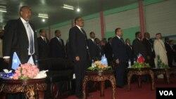 Viongozi wa kigeni walohudhuria sherehe za kuapishwa rais mpya wa Somalia Hassan Sheihk Mohamud