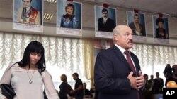 Presidenti i Bjellorusisë Alexander Lukashenko