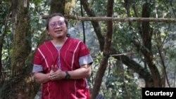 ကရင္ အမ်ိဳးသား Paul Sein Twa (ဓါတ္ပံု- Regnskogfondet - Rainforest Foundation Norway)