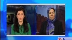 ظریفی: این دستاورد را به تمام زنان افغان تبریک میگویم