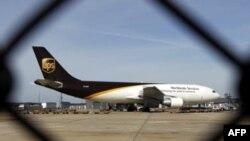 Самолет почтовой компании UPS