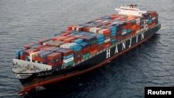 2016年9月8日一艘韩进海运公司的船只在加州长滩港口外搁浅。2016年12月2日,一艘俄罗斯货船举报在伊斯坦布尔沿海搁浅。