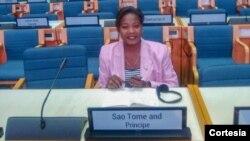 Dra. Elsa Garrido - Líder do Partido Verde STP