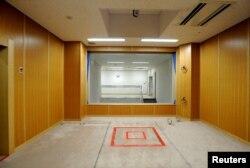 일본 도쿄 교도소 내 사형집행 시설. (자료사진)