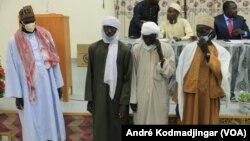 Les parents des victimes (44 prisonniers mort en prison) réclament justice, N'Djamena, Tchad, le 22 juillet 2020. (VOA/André Kodmadjingar)