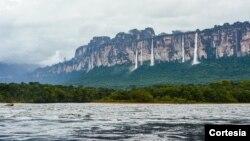 El parque nacional Canaima de Venezuela.