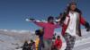 آغاز تمرینات برای رقابتهای اسکی در بامیان