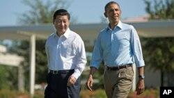 El presidente de China Xi Jinping y el madantario de EE.UU., Barack Obama, se reunieron hace un mes para discutir un posible acuerdo comercial entre ambas naciones.