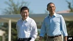 20136月8日奥巴马和习近平在加州阳光之乡会晤