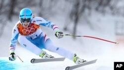 Alp disiplini erkekler iniş finalinde altın madalya kazanan Avusturyalı Matthias Mayer