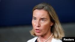 페데리카 모게리니 유럽연합(EU) 외교 안보 고위대표.