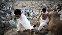 Musulmai a ranar Arafat.