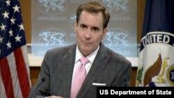 Juru bicara Departemen Luar Negeri Amerika John Kirby (foto: dok).