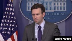 白宫发言人欧内斯特(图片来源:白宫)